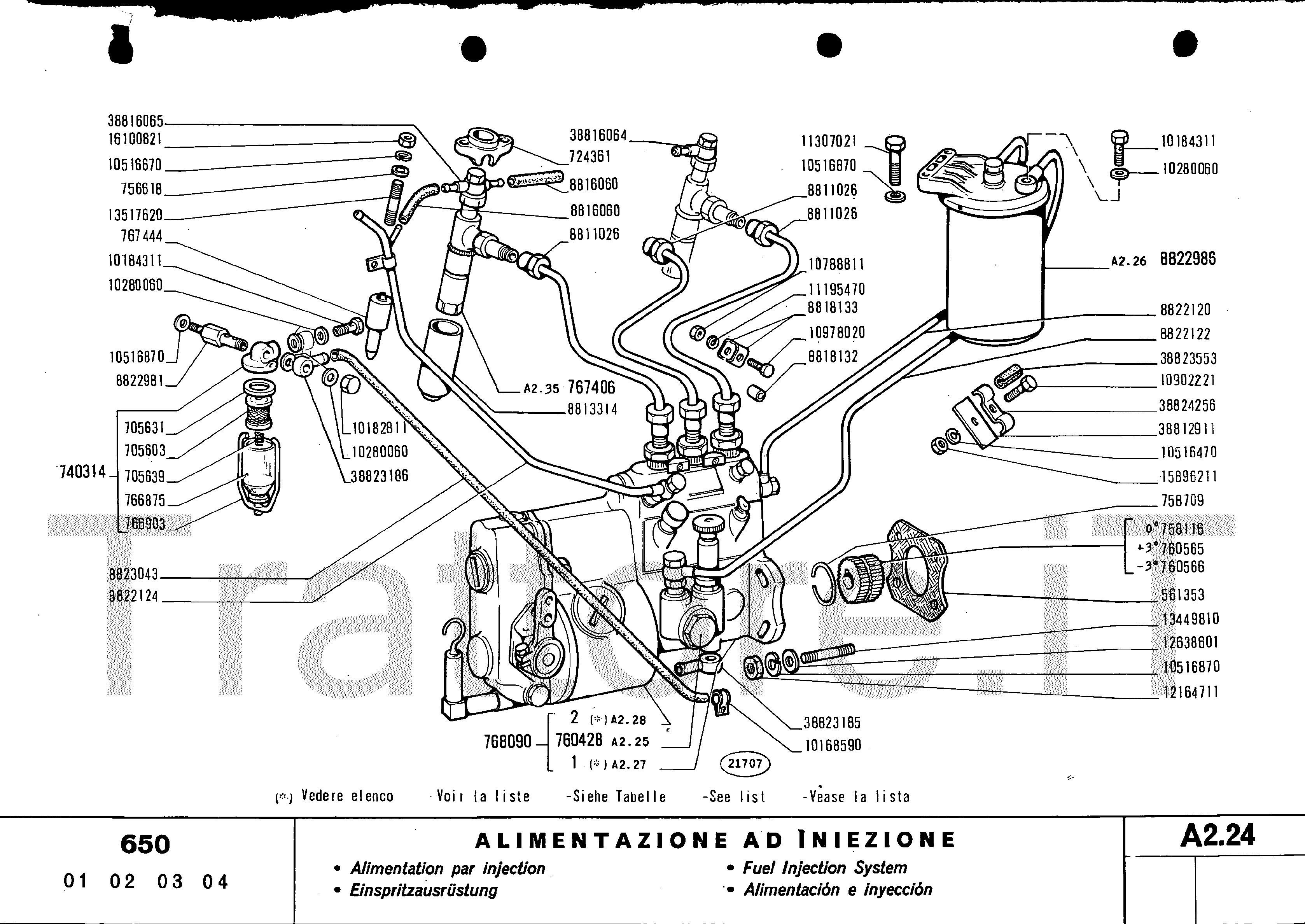 Schema Elettrico Per Trattore : Schema elettrico trattore same lml star